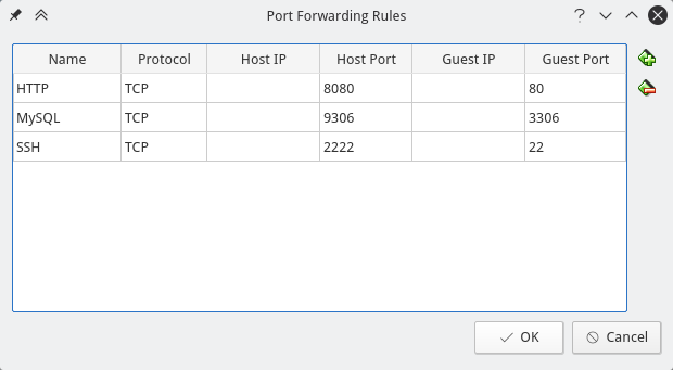 vbox-port-forwarding