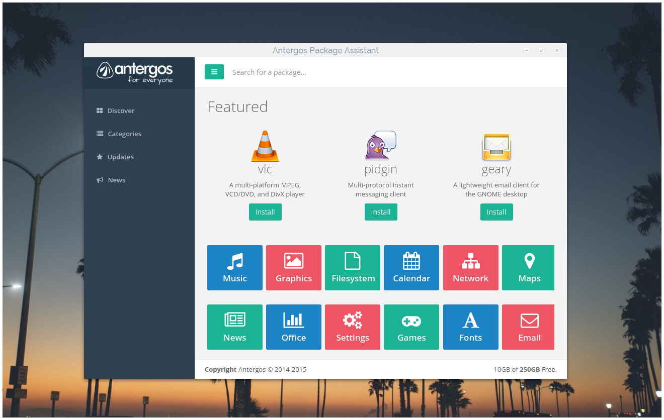 antergos-package-assistant